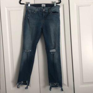 Hudson Tally skinny crop jean